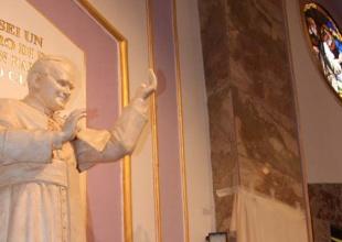 Benedizione Statua Giovanni Paolo II