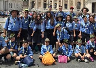 Gruppo Scout Caltanissetta 7 a Roma